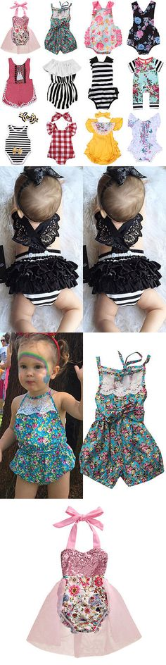 Baby Girls Clothing: Us Stock Newborn Baby Boys Girls Floral Romper Bodysuit Outfits Sunsuit Clothes -> BUY IT NOW ONLY: $9.69 on eBay!