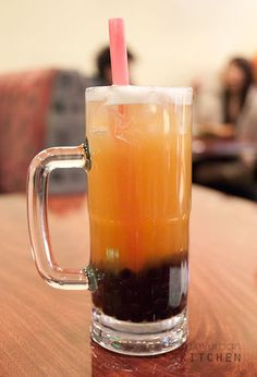 Boba -- One of the most refreshing drinks I have EVER had is the honey chrysanthemum boba tea from Ten Ren in the heart of LA's Chinatown.  It is a must-have splurge whenever I go.
