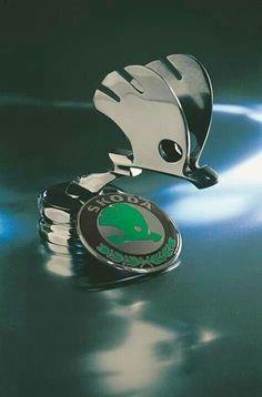 …_Škoda Auto…Brought to you by House of Insurance in – En Güncel Araba Resimleri Car Badges, Car Logos, Vintage Cars, Antique Cars, Motor Logo, Car Symbols, Car Bonnet, Car Hood Ornaments, Automotive Art