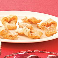 My mom used to make these for us ... so yummy!   Polish Cookies Recipe