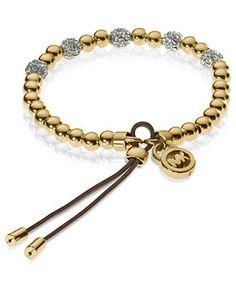 Michael Kors #bracelet #gold #macys BUY NOW!