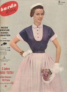 Обложки Бурда Моден. 60-е. | СПЛЕТНИК