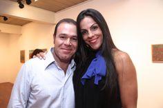 Luiz Gantus e Jaqueline Oliveira