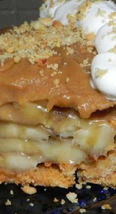 Banana Fosters Pie