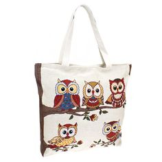 Wise Owls Tote/ perfect carry all Tote/handbag Bag/bingo bag/Purse/tote/diaper bag/handbag by sewsassybootique on Etsy Fudge, Bingo Bag, Red Owl, Owl Bags, Wise Owl, 5 W, Large Tote, Tote Handbags, Purses And Bags
