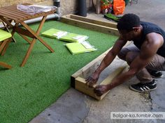 DIY: How to build a garden in 3 hours, Outdoor Patio - The Blog of One Balgar-ka.tumblr.com