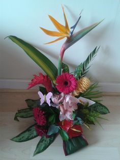 Mothers day flowers just arrived i am a very lucky lady made by my   Very talented florist friend mwah x