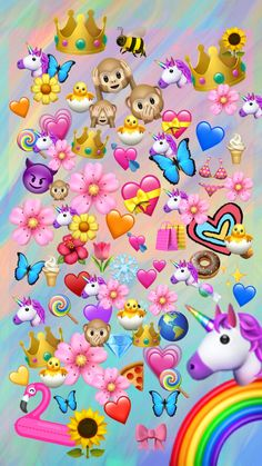 Discover recipes, home ideas, style inspiration and other ideas to try. Cartoon Wallpaper, Unicornios Wallpaper, Emoji Wallpaper Iphone, Simpson Wallpaper Iphone, Cute Emoji Wallpaper, Cute Disney Wallpaper, Locked Wallpaper, Cute Wallpaper Backgrounds, Tumblr Wallpaper