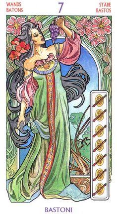 Галерея Tarot Art Nouveau – 81 фотография