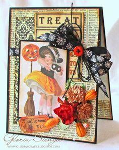 Scraps of Life: Crafty Secrets - Trick or Treat; tutorial on her website...