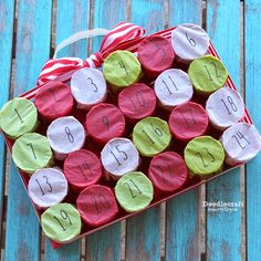 Toilet Paper Roll Christmas Countdown Advent Calendar!    The perfect Christmas countdown!  Or countdown for any other occasion!    Ti...