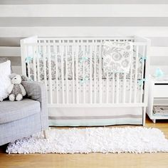 Wink Baby Bedding I love this color combo! I will recreate this for CHEAP