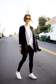 #streetstyle #jeans #white #black