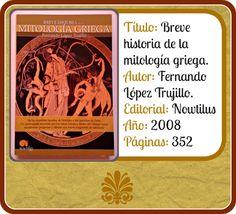 """Ficha de """"Breve historia de la mitología griega"""""""