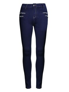 Buy Excellent Zips Plain Jeans online with cheap prices and discover fashion Jeans at Fashionmia.com.