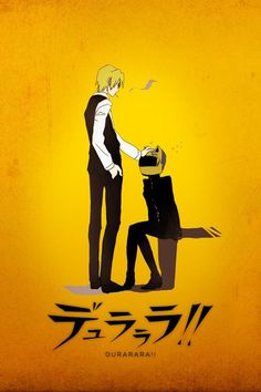 I loved the relationship these two had! #Durarara!!