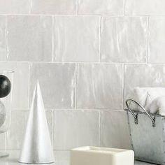 Ivy Hill Tile Amagansett x Ceramic Field Tile Color: White Ceramic Mosaic Tile, Ceramic Subway Tile, Stone Mosaic Tile, Glass Subway Tile, Marble Mosaic, Mosaic Wall, Mosaic Glass, Wall Tiles, Backsplash Tile
