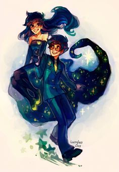 John and Jade -- Homestuck