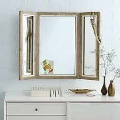 Trifold Mirror | west elm