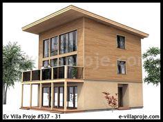 Ev Villa Proje #537 – 31, 3 katlı, 4 yatak odalı, 148 m2