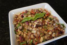 15 Bean Salad    Holy crap - I do a 3 bean salad... 15 beans seems overly ambitious! :-)