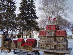 For the birds - (look like dollhouses)