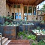 Using metal for terracing