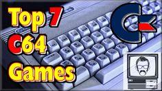 C64 Games Top 7 Ever Possibly | Nostalgia Nerd