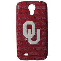 Oklahoma Sooners Samsung Galaxy S4 Graphics Case