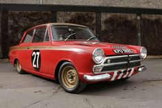 Ford Cortina worth £120,000: Sir John Whitmore's race car in same condition as fifty years ago