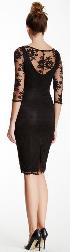 Black lace #lbd