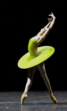 Polina Semionova in Vertiginous Thrill of Exactitude - abstract tutu - lovely form