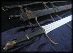Longclaw - Valyrian Sword of Jon Snow from Game of Thrones - A Song of Fire and Ice - by Brendan Olszowy Fable Blades