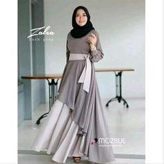 Dress hijab party remaja New Ideas – Hijab Fashion 2020 Hijab Dress Party, Hijab Style Dress, Dress Outfits, Batik Fashion, Abaya Fashion, Fashion Dresses, Islamic Fashion, Muslim Fashion, Muslim Long Dress