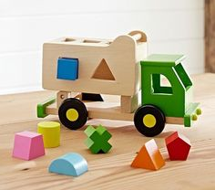 Sort n Tip Truck. POTTERY BARN KIDS.