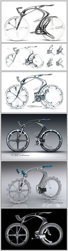 Revista Leaf » Bike Design: As bikes conceito