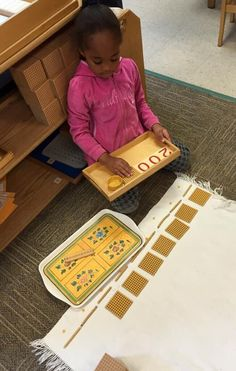 """Using specially designed materials, students start with the physical representation of mathematical concepts. The materials allow children to build on this knowledge to explore advanced math: addition, subtraction, division, multiplication, decimal system, geometry and algebraic equations. """"Research shows that the development of mathematics skills early not only predicts later success in math, but also predicts later reading achievement."""" Discover the Montessori advantage! Kindergarten Learning, Learning Centers, Fun Learning, Preschool, What Is Montessori, Montessori Classroom, Algebra Equations, Reading Words, Kindergarten"""