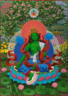 Paramchaintanya Men — Green Tara Robert B Porter Thailand