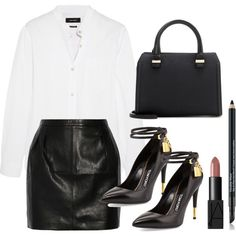 Sans titre #1777 by christina95styles on Polyvore featuring Isabel Marant, BLK DNM, Tom Ford, Victoria Beckham, Estée Lauder and NARS Cosmetics