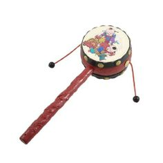 Inventive Pair Of Wooden Large Maracas Rumba Shakers Rattles Sand Hammer Percussion Instrument Musical Toy For Kid Children Party Games 100% High Quality Materials Parts & Accessories