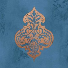 DIY Wall Art with Stencil Patterns - Turkish and Middle Eastern Flower Wall Art Stencil for Exotic Home Decor - Royal Design Studio