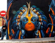 regram @graffitiworldtv Artwork by @rudiart1 in #Alicante Spain.  #GraffitiWorld #3D #Rudiart #streetart #urbanart #spraypaint #graffiti #character #instalike #streetartandgraffiti #instagood #news #graffitiart #mural #wall #instagraff #instagraffiti #artwork #art #urbanwall #muralart #streetarteverywhere #streetartphotography #thisisstreetart