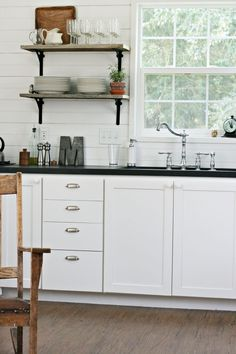(White cabin 3 of 3) Exceptionally Eclectic - Small Cabin Style and Living with Intention - Eclectically Vintage