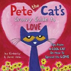 Pete the cat shares some of his favorite quotes from famous people about the subject of love, and adds his own groovy take to them.