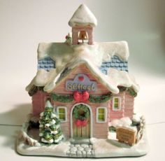 Precious Moments Hawthorne Christmas Village Tiny Treasures Toy ...