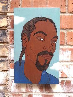 Snoop Dog on Russian Oak by HeartsideGallery on Etsy, $40.00