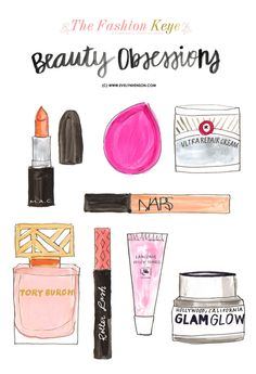 #brightlydecoratedlife tip: put on some lip gloss & head to a party! // beauty obsessions via evelynhenson.com