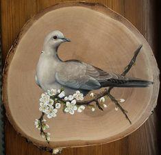 Wood Painting Art, Pallet Art, Wooden Art, Vintage Birds, Leaf Art, Watercolor Animals, Animal Paintings, Bird Art, Beautiful Birds