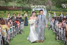 Strawberry Farms Wedding : Christin  and  Brian - Jasmine Star Blog