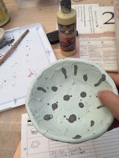 Glaze on bowl #2